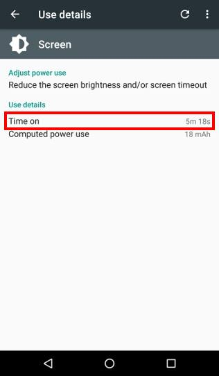 check Android battery usage Check Android battery usage by individual apps
