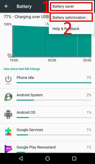 check Android battery usage Should I enable battery saver for my Android phones