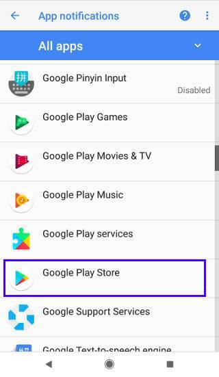 How to access notification channel?