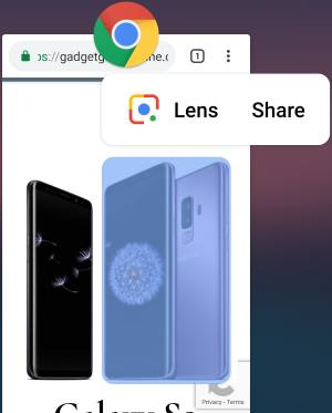 use overview selection in Android Pie
