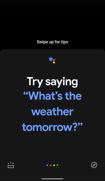 Google Assistant in Android 10