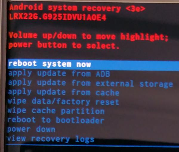 boot_into_galaxy_s6_recovery_mode_3_recovery_menu