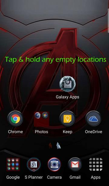 use_Galaxy_S6_screen_grid_set_app_icon_size_1_home_screen