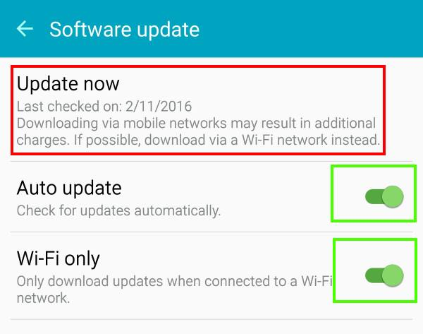 FAQs on Android Marshmallow update for Galaxy S6