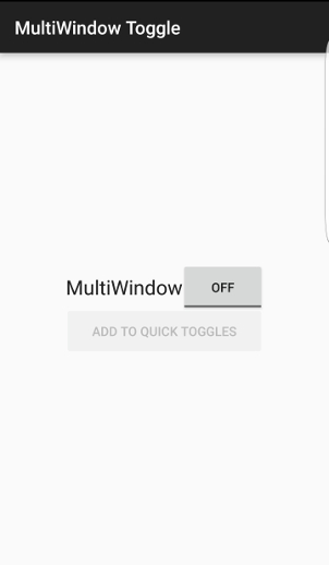 turn off/disable multi window in Galaxy S6 completely