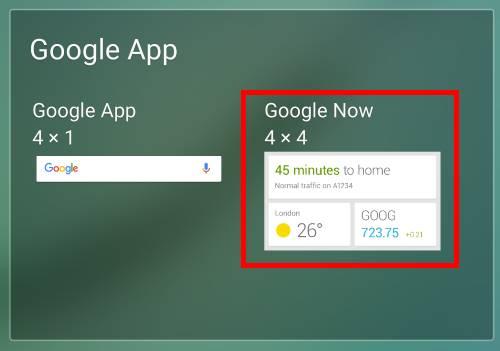 add widgets to Galaxy S6 home screen?