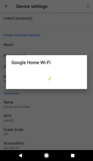 How to change Google Home WiFi?