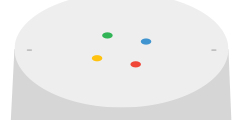 Meaning of Google Home LED lights when Google Assistant is working (or not working)