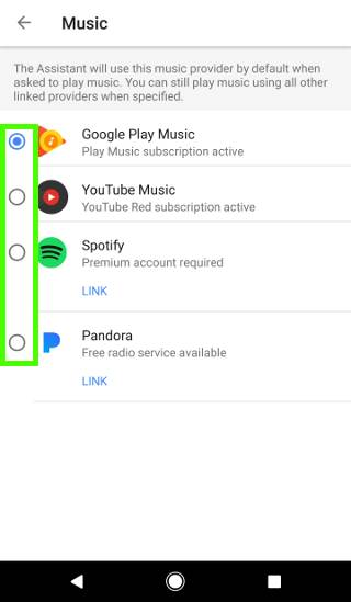 customize Google Home settings