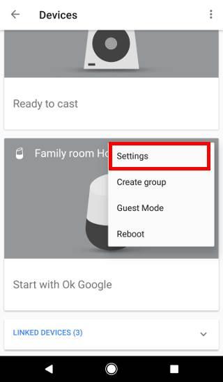 rename Google Home