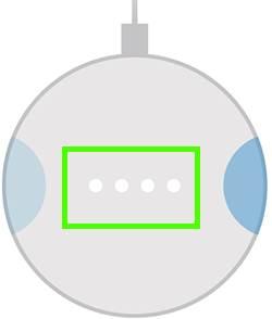Google Home Mini LED lights