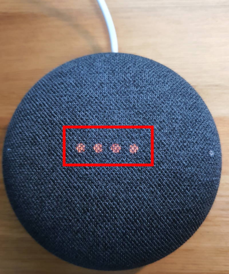 reset Google Nest Mini (Google Home Mini 2nd Gen)