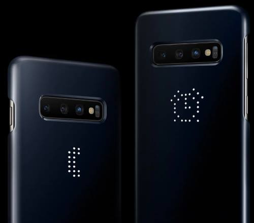 Use notification icon on Galaxy S10 LED cover