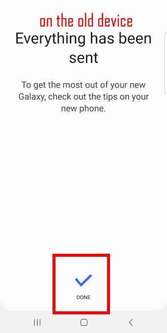 use Smart Switch to migrate to Galaxy S10 with a USB cable