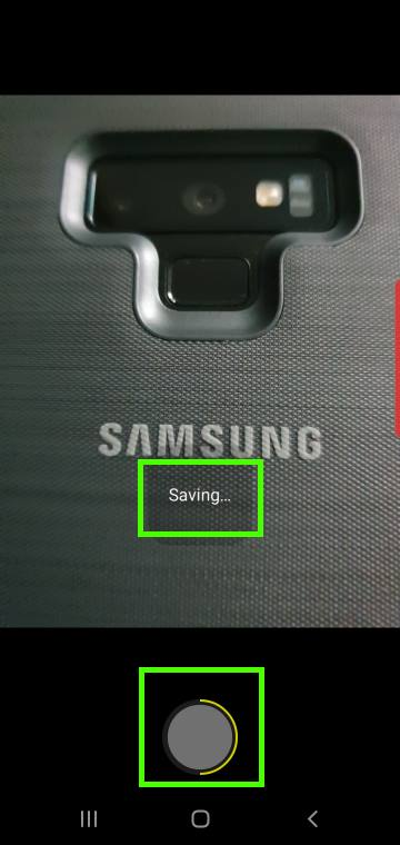 use Galaxy S10 camera night mode