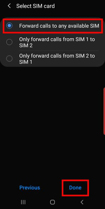 set up dual SIM always on for Galaxy S10