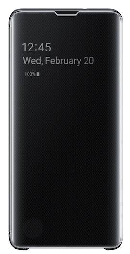 Galaxy S10 clear view cover (S-View flip cover)