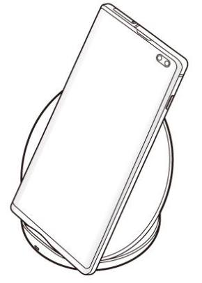 Galaxy S10 wireless charging