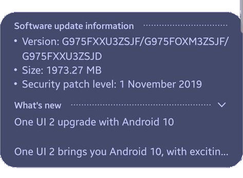 Top 10 new features in Android 10 update for Galaxy S10