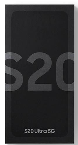 Unbox Galaxy S20: items in Galaxy S20 box