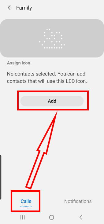 customize and create LED icons on the Galaxy S20 LED View cover