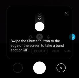 ake burst shot photos with Galaxy S20 burst mode