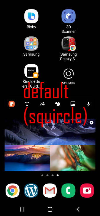 the squircle icon shape