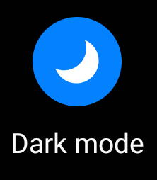 use and force Galaxy S20 dark mode