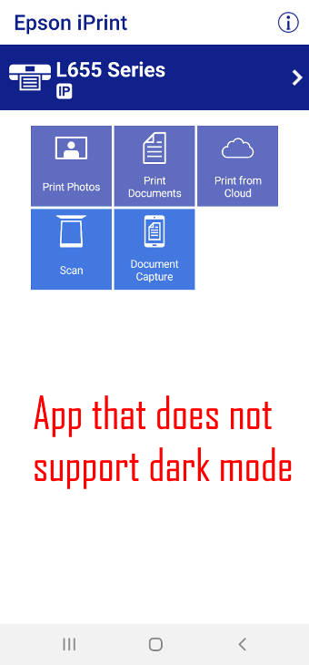 force all apps to use Galaxy S20 dark mode?