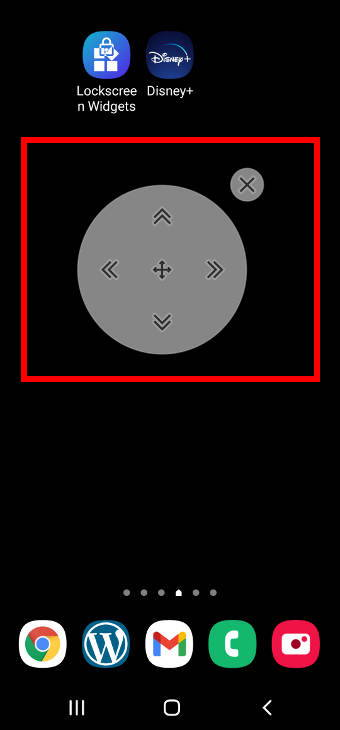 use Galaxy S20 Assistant Menu: screen control