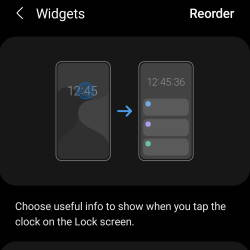 access, use, and customise widgets on Galaxy S20 lock screen and AOD screen with Android 11 update for Galaxy S20