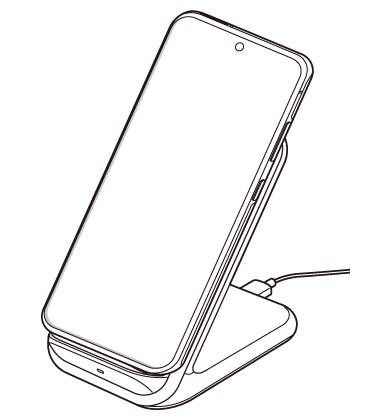 Steps to charge Galaxy S21 battery through a wireless charging pad