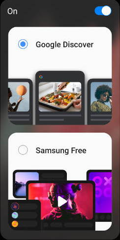 Master Google Discover and Samsung Free on Galaxy S21