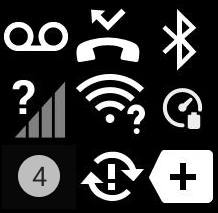 Meaning of Galaxy S21 Status Icons and Notification Icons
