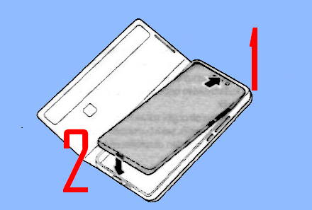 attach Galaxy S21 smart clear view cover (S-View cover) to the phone