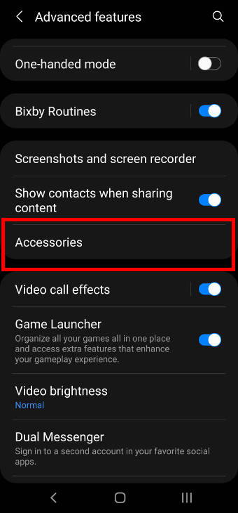 Galaxy S21 Advanced features