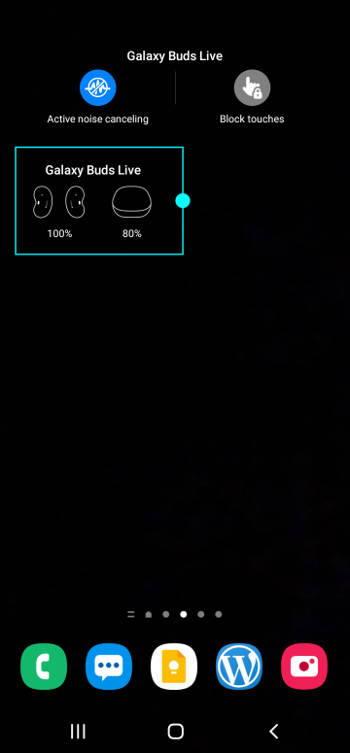 resize widgets on Galaxy S21