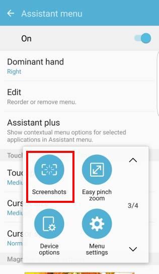 take screenshot on Galaxy S7 and Galaxy S7 edge and use Galaxy S7 scroll capture, screenshots button