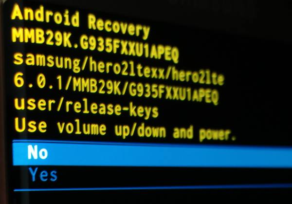 use Galaxy S7 recovery mode