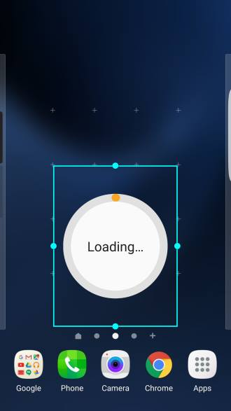 add direct dial, direct message and contact shortcuts to Galaxy S7 home screen