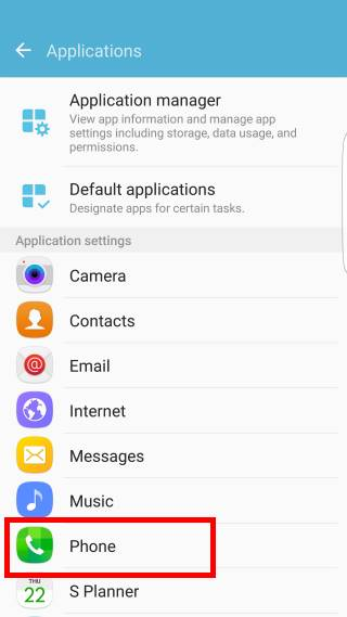 Use power button to mute Galaxy S7 ringtone