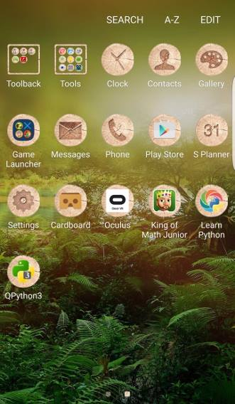 download and apply new Galaxy S7 themes