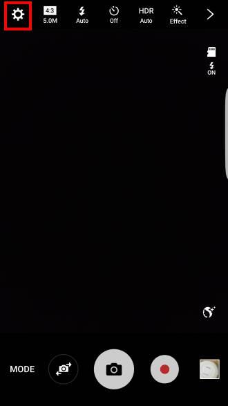 use volume key to take photos in Galaxy S7 camera app