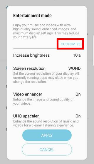 use Galaxy S7 performance mode in Android Nougat update for Galaxy S7 and Galaxy S7 edge