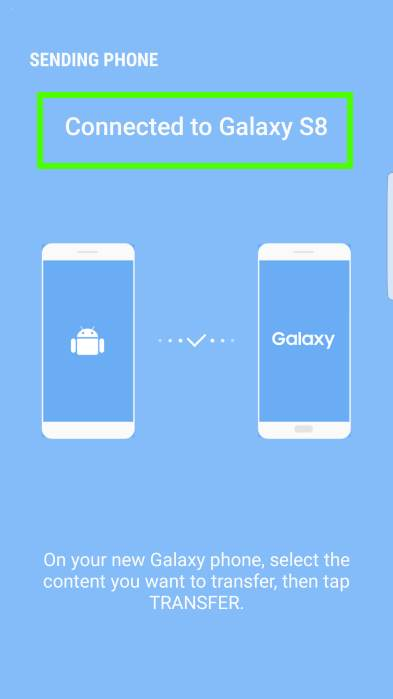Use USB cable to transfer data from old device to Galaxy S8 and S8+