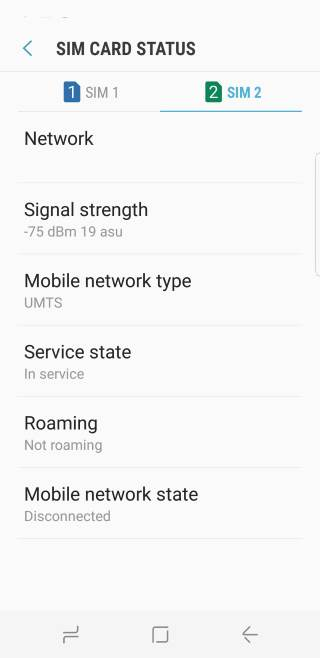 check and fix problems related to using dual SIM cards in Galaxy S8 and S8+