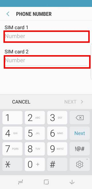 dual sim always on: use two SIM cards in Galaxy S8 and S8+