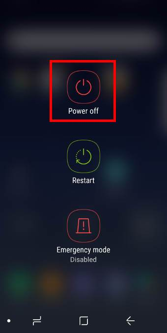 Two ways to reboot the Galaxy S8 or S8+ into Galaxy S8 safe mode
