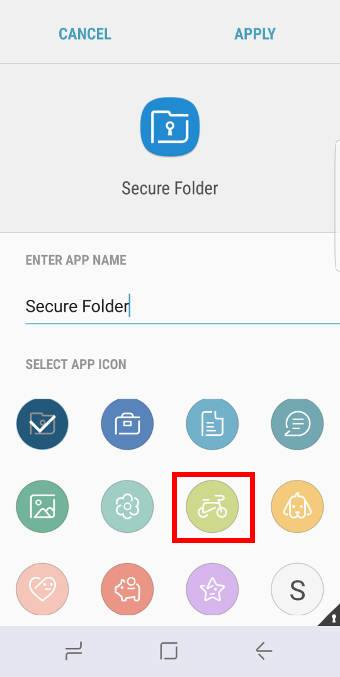 Galaxy S8 secure folder in Galaxy S8 and S8+