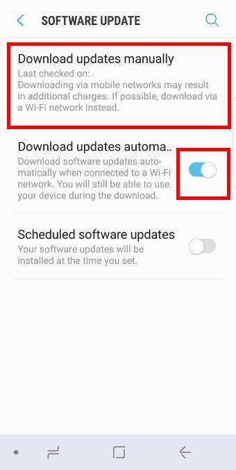 installGalaxy S8 Android Oreo Update for Galaxy S8 and S8+